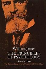 The Principles of Psychology Vol. 2 by William James (1950, Paperback,...
