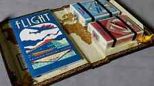 Flight Decks Set Red & Blue Playing Cards Poker Size Custom Limited New Sealed