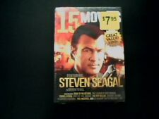 15 Movies: Featuring Steven Seagal and/& Chuck Norris (DVD, 2014 3-Disc Set) New