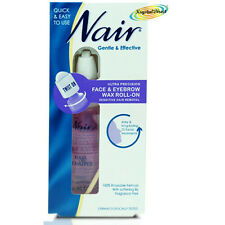 Nair Ultra Precision Face Eyebrow Wax Roll on Facial Hair Remover 15ml