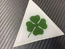 1 Adesivo Stickers ALFA ROMEO Quadrifolgio verde 10 cm