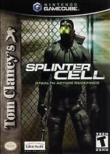 Tom Clancy's Splinter Cell Nintendo GameCube Stealth Action Redefined Wii USA