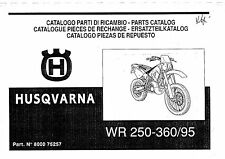 Husqvarna Parts Manual Book 1995 WR 250 & WR 360