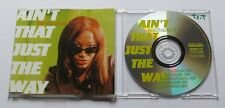 "LUTRICIA McNEAL ""Ain't That Just The Way"" Maxi-CD"