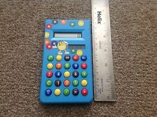 M&m's Blue Vintage Solar Powered Calculator