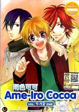 DVD Anime Ame-Iro Cocoa Complete TV Series 1-12 End  English Subtitle Region All