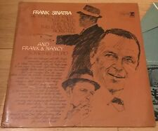 Frank Sinatra And Frank & Nancy Reprise Records LP 1967 Rare