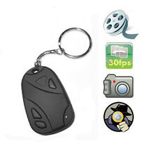 Hot Mini Car Key Chain DVR Camcorder Video Covert Spy Pinhole Hidden Camera
