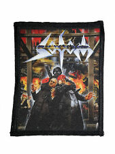 SODOM - Patch Aufnäher - Masquerade in blood 9x11cm NEU