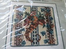 NOS Polite to Point Needlepoint Kit CORNUCOPIA Winterthur Musuem Interpretation