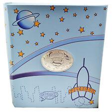 Album foto celeste superbaby per nascita battesimo cm 20x25 con blasone super