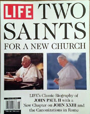 LIFE MAGAZINE SPECIAL ISSUE: TWO SAINTS FOR A NEW CHURCH (2014) NEW - FREE SHIP!