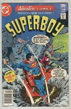 Adventure Comics #454 November 1977 VG Superboy, Aqualad