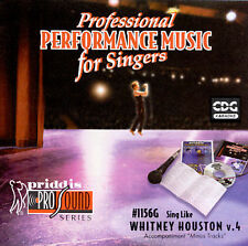 Sing-A-Long-Vol. 4, Whitney Houston [KARAOKE] by Various Artists