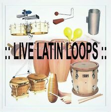 REAL LIVE LATIN LOOPS (merengue, salsa, bachata, and more) (5,449 wave files)