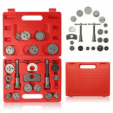 Car Brake Caliper Piston Rewind Wind Back Service Tool Kit 22 Pcs With Red Case