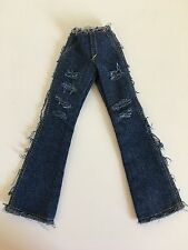 "Tonner Tyler Wentworth Denim Raw Style Flared Jean For 16"" Doll Fashion Clothing"