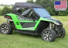 Full Enclosure for Arctic Cat Wildcat - HARD Windshield - Doors - Roof - Rear