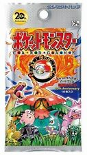 Pokemon CP6 booster pack japanese new 20th anniversaire base set 1st edition