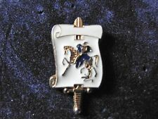 "RARE PINS PIN'S ZAMAC "" CHEVAL - CHEVALIER - ECUSSON - EPEE "" MARTINEAU SAUMUR """