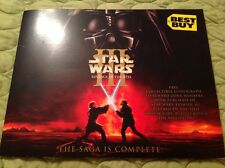 STAR WARS VINTAGE COLLECTIBLE LITHOGRAPH EPISODE III REVENGE OF THE SITH