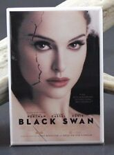 Black Swan Movie Poster - Fridge / Locker Magnet. Natalie Portman