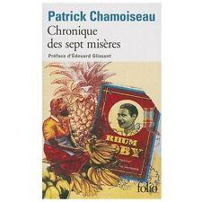 Chronique Des Sept Miseres Chamoiseau, Patr Mass Market Paperback