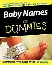 Baby Names for Dummies® by Margaret Rose (2005, Paperback)