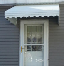 "SPRING BLOWOUT SALE WHITE 72""x 38""x 20"" Aluminum Awning-Window-Door Canopy kit"