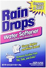Rain Drops Water Softener, 42 Ounce (Pack of 2), New, Free Shipping