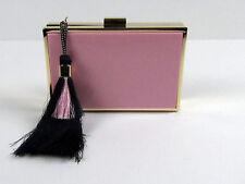 NWT J Crew Tassel clutch Purse Pink SU15 $198 C6635 SOLD OUT