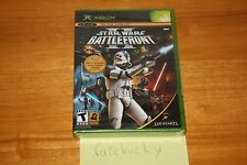 Star Wars: Battlefront II (Xbox) NEW SEALED BLACK LABEL, Y-FOLD W/UPC, MINT!