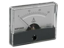 """VELLEMAN AIM6030A ANALOG CURRENT PANEL METER 30A DC / 2.4"""" x 1.9"""""""