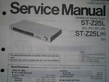 TECHNICS ST-Z25L ST-Z25LK Stereo Tuner Service manual wiring parts diagram