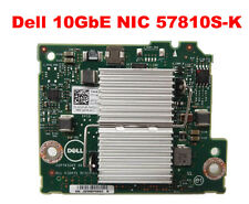 DELL NETWORK CARD 57810S-K 10GBE DAUGHTER CARD FOR DELL PE M620 / M820 JVFVR