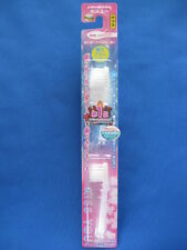 KISS YOU  compact fine Bristl head  ionic toothbrush 2 replace Clear for body