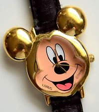 V501-X075 Lorus Mickey Mouse Watch Working Great!