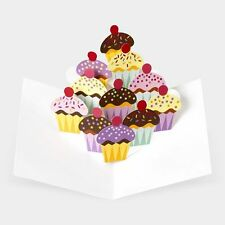 3D Robert Sabuda 8 MoMA Museum of Modern Art Cupcake Thank You Birthday Cards