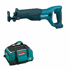 MAKITA 18V LXT BJR182 BJR182Z BJR182RFE RECIPROCATING SAW AND BAG
