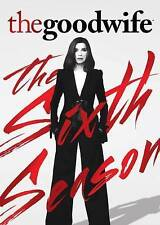 The Good Wife: The Sixth Season (DVD, 2015, 6-Disc Set), CLEARANCE