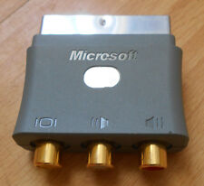 Official Genuine Microsoft XBox 360 SCART Adaptor