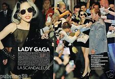 Coupure de Presse Clipping 2011 (4 pages) Lady gaga