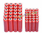 24 AA 3000mAh + 24 AAA 1800mAh 1.2V NI-MH Rechargeable Battery 2A 3A Red Cell