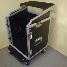 ROADINGER Laptop-Kombicase 12/10HE Notebook-Winkelrack L-Rack m. Laptopablage