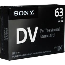 1 Sony Pro GR Mini DV camcorder video tape for JVC DV3000U DVL505U DVL725U