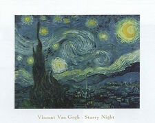STARRY NIGHT - VAN GOGH ART POSTER - 16x20 PRINT 16074