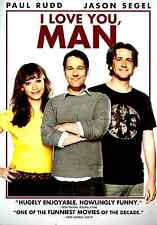 I Love You, Man (DVD, 2009) Jason Segel, Paul Rudd, Wild Comedy Hit!