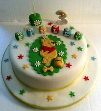 Winnie the Pooh  Cake Topper - Any Colour - Any Name & Age - Birthday