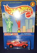 2000 Hot Wheels Otter Pops Red '67 Camaro  Special Edition Twin Towers Protecto