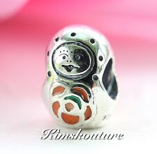 Authentic Pandora RARE Russian Nesting Matryoshka Charm #790582ER